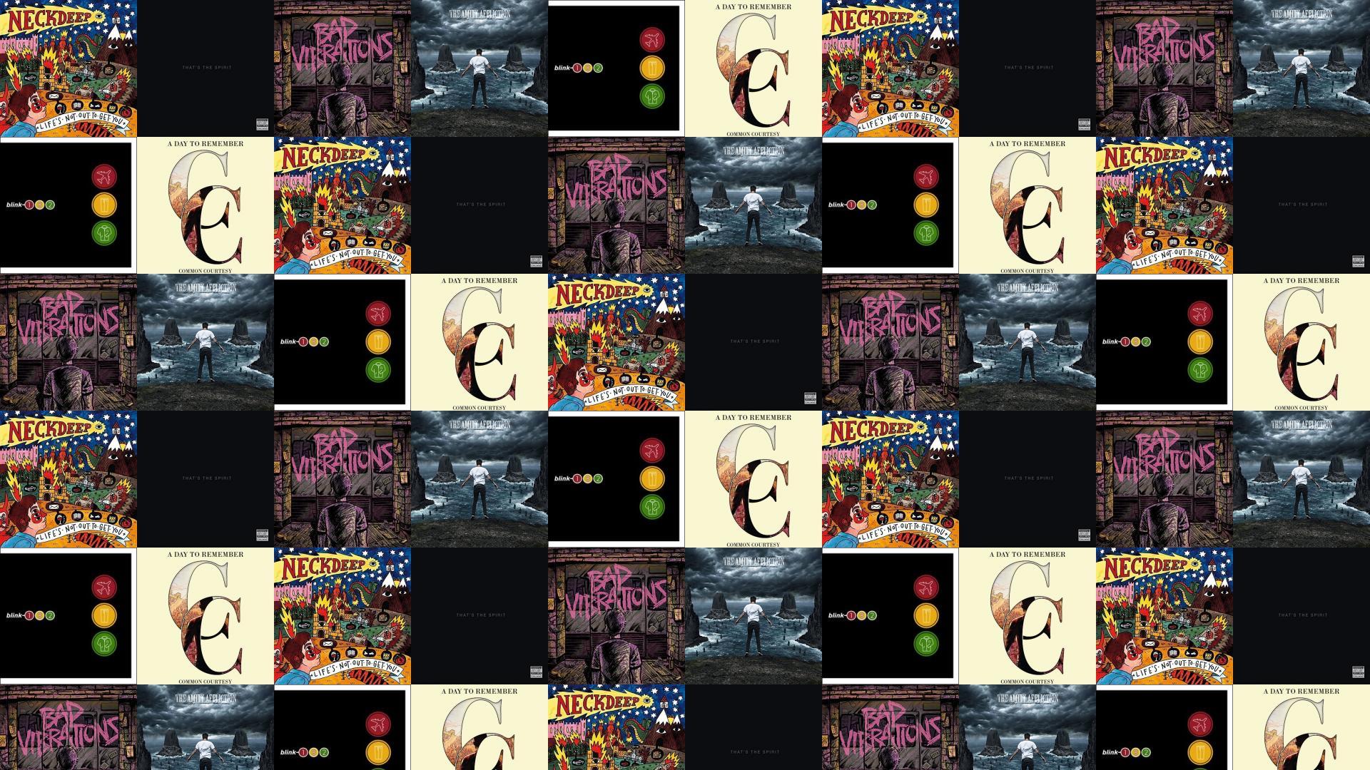 Neck Deep Lifes Not Out To Get You Wallpaper Tiled Desktop