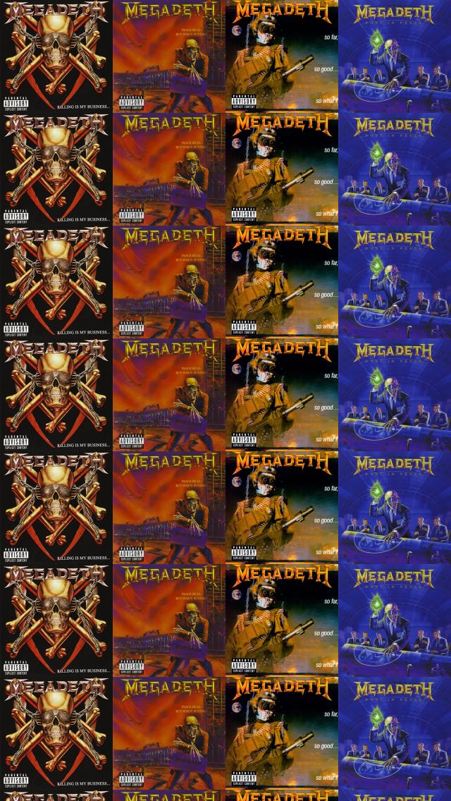 Megadeth Killing My Business And Business Good Peace