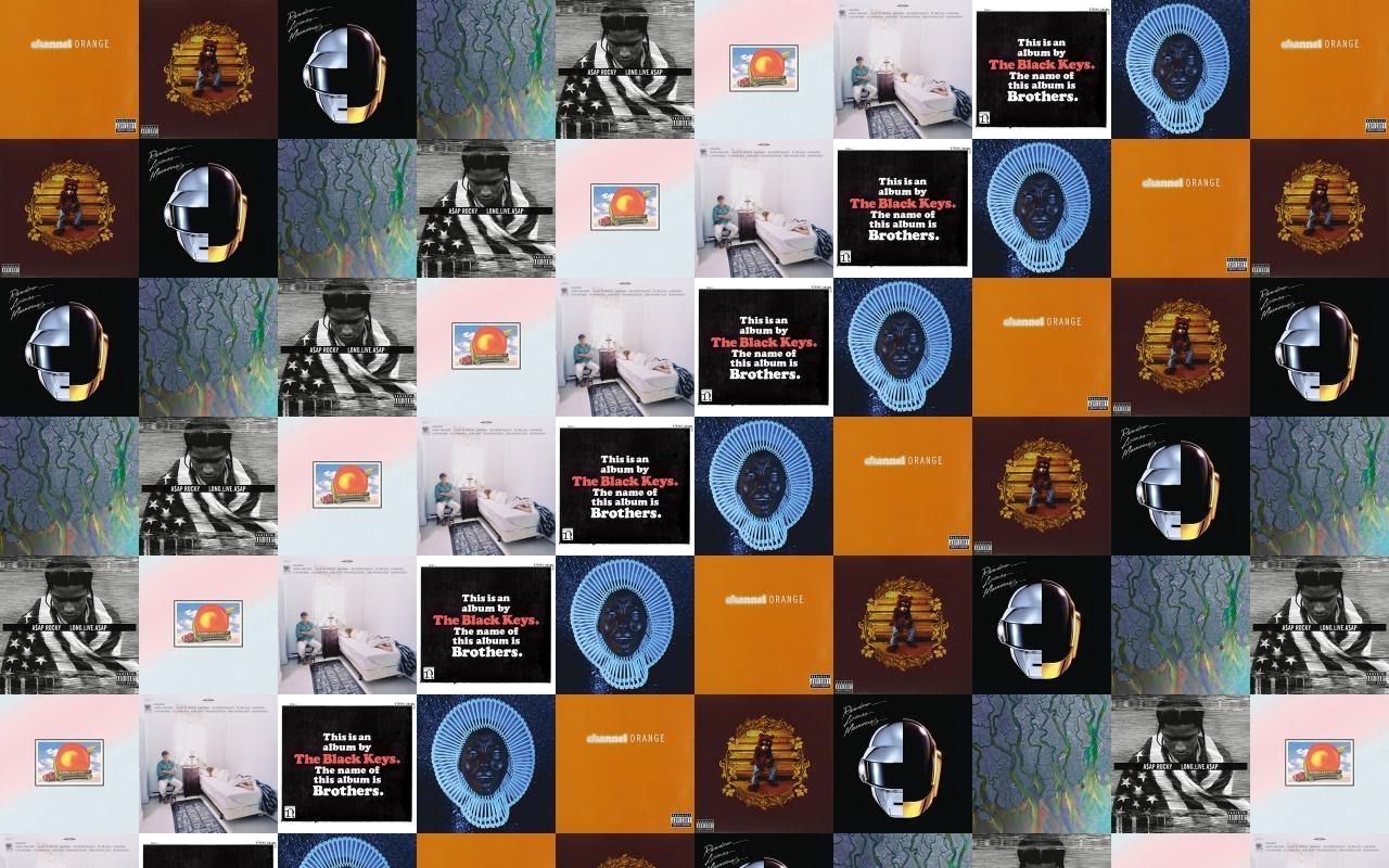 Frank Ocean Channel Orange Kanye West College Dropout Wallpaper Tiled Desktop Wallpaper