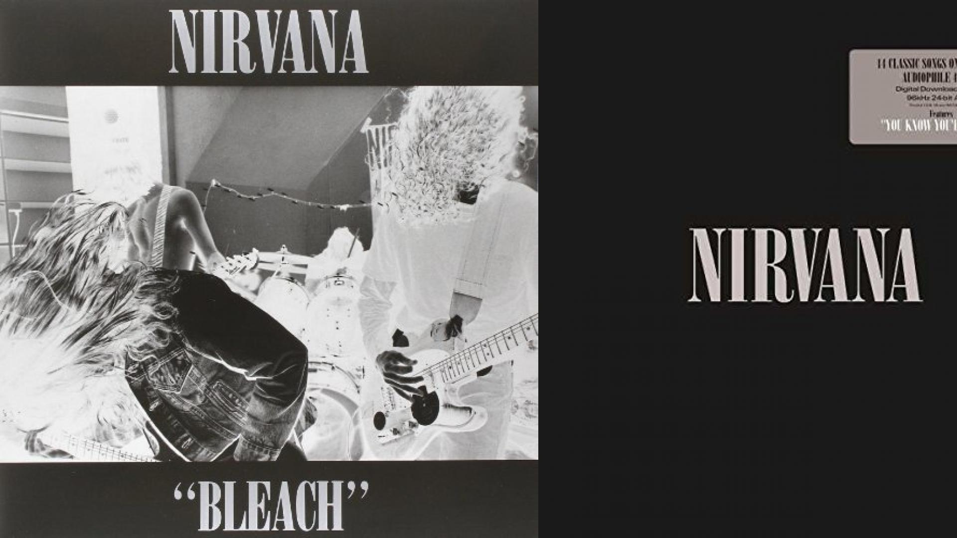 nirvana album cover wallpaper