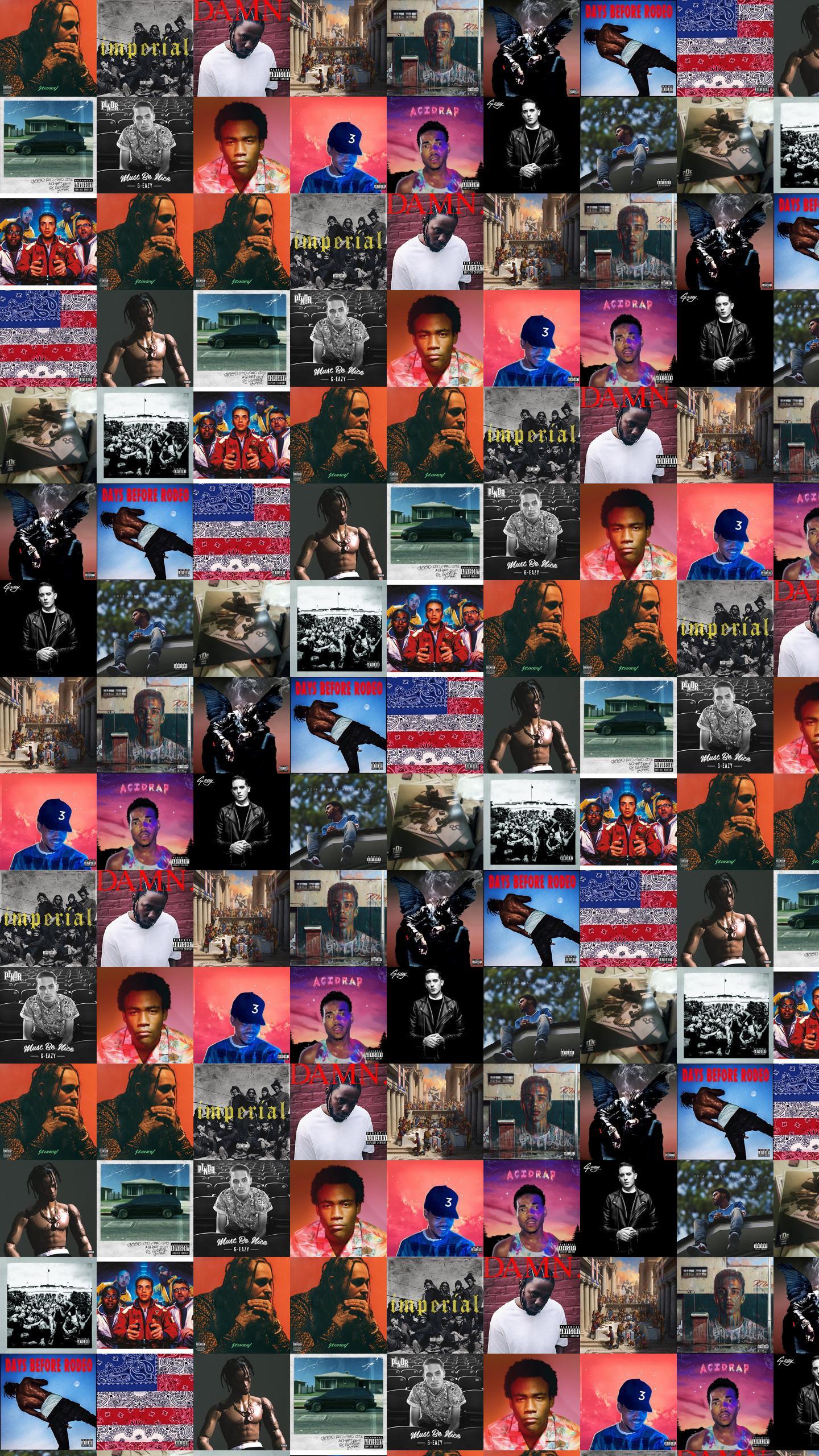Post Malone Denzel Curry Kendrick Lamar Wallpaper 171 Tiled