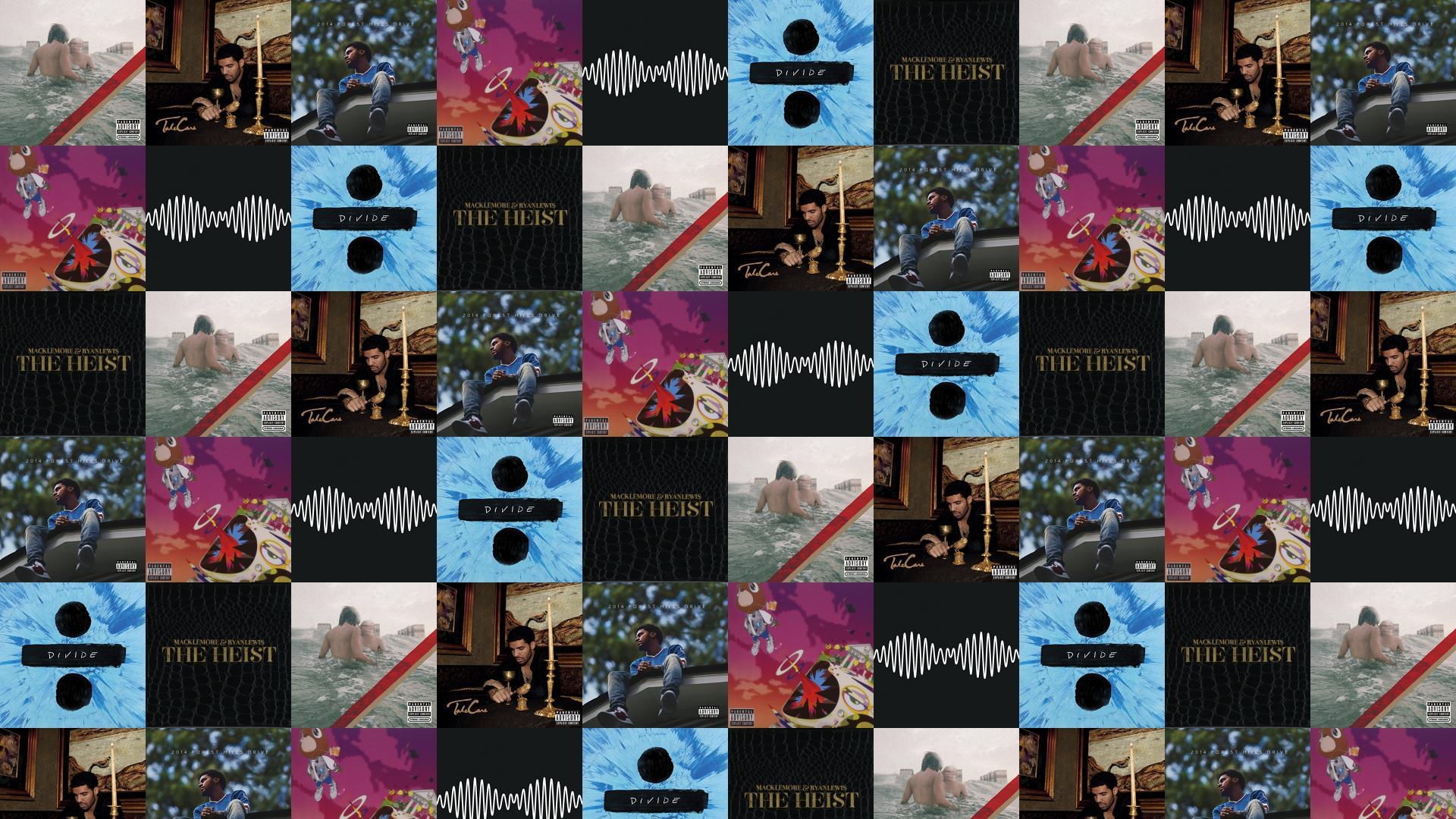 Ed Sheeran 171 Tiled Desktop Wallpaper