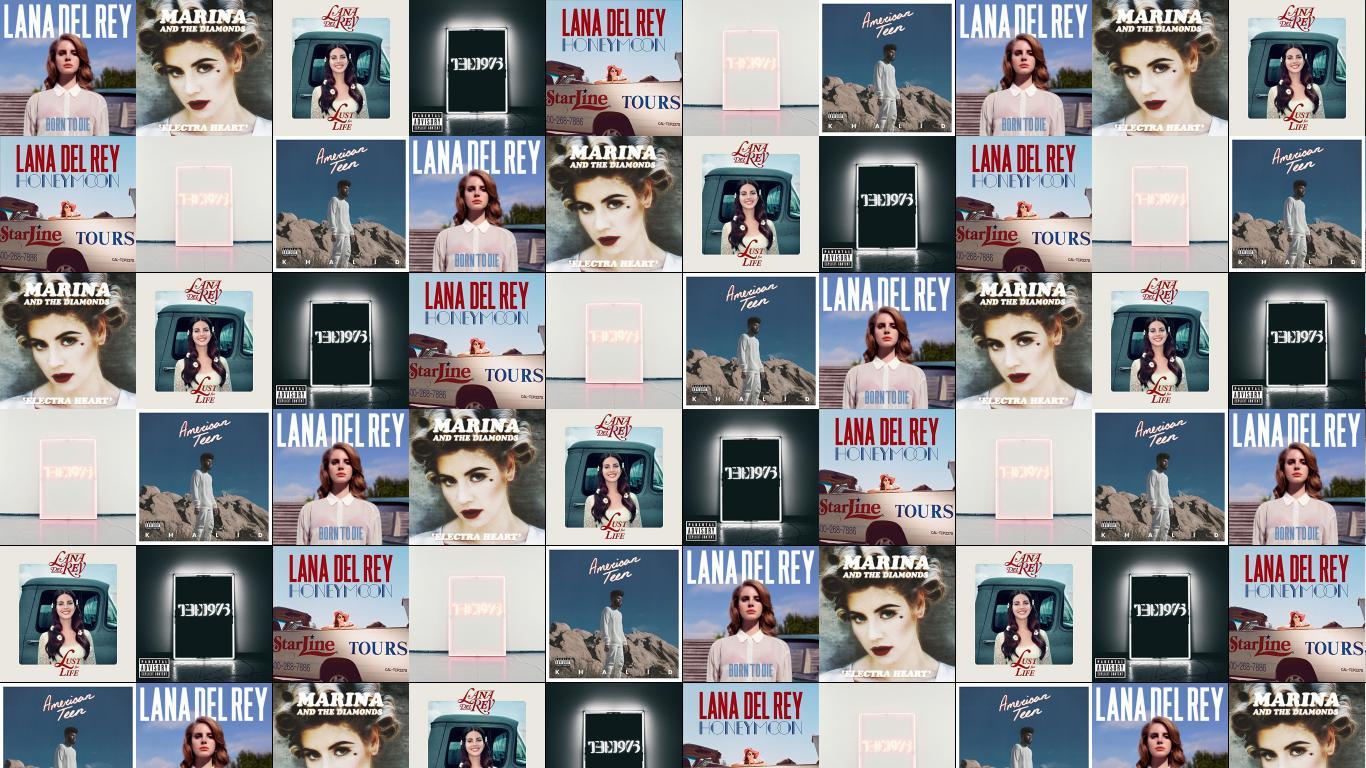 Lana Del Rey Born To Die Marina Diamonds Wallpaper Tiled Desktop