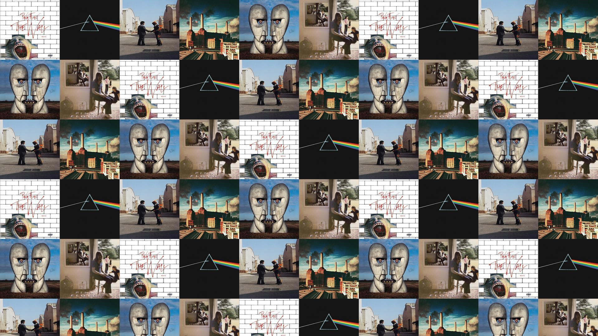 Pink Floyd Wall Dark Side Moon Wish You Wallpaper Tiled Desktop