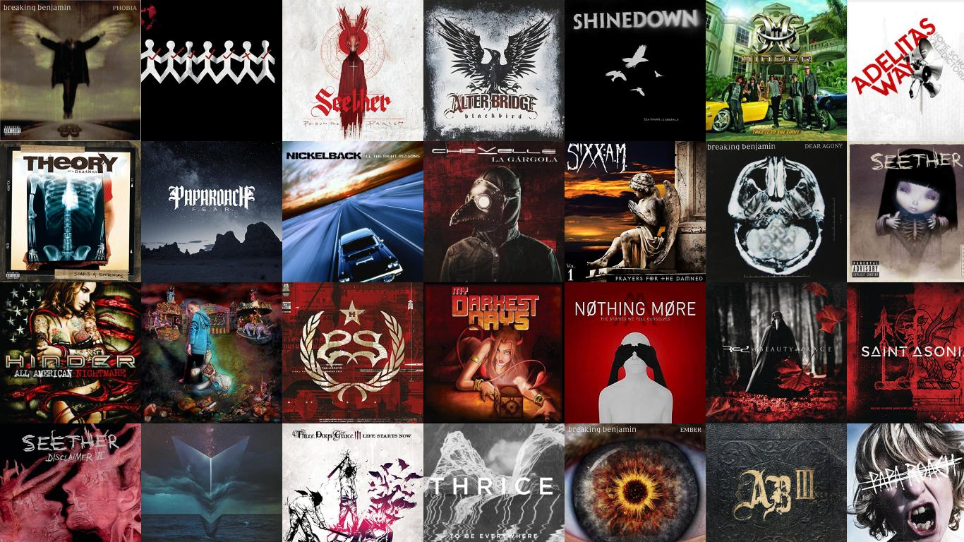 Breaking Benjamin Phobia Three Day Grace One X Seether Wallpaper Tiled Desktop