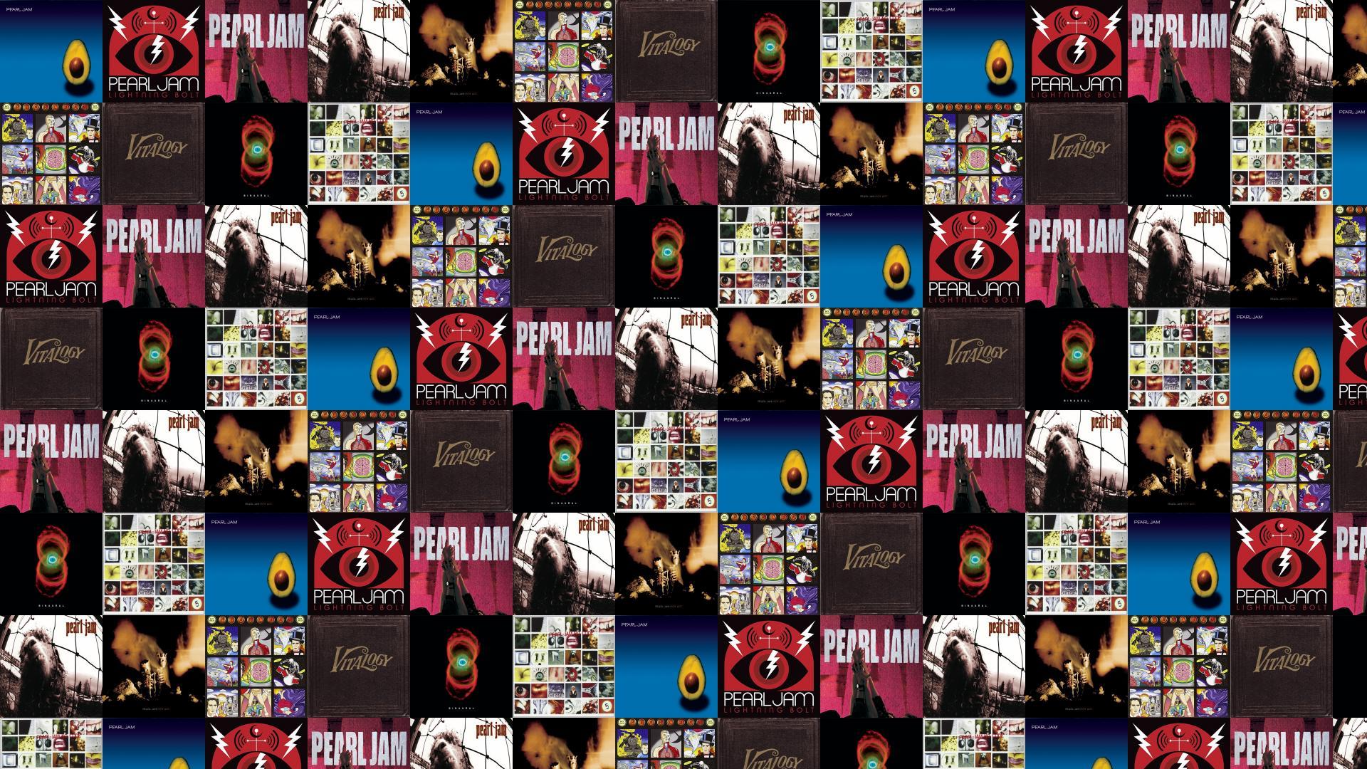 Pearl Jam Lightning Bolt Ten Vs Riot Wallpaper Tiled