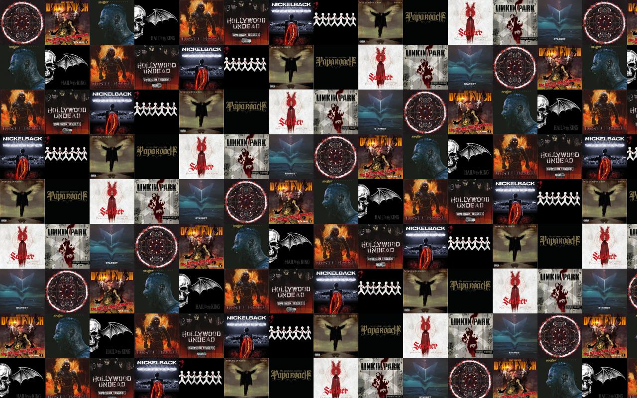 Three Days Grace Tiled Desktop Wallpaper