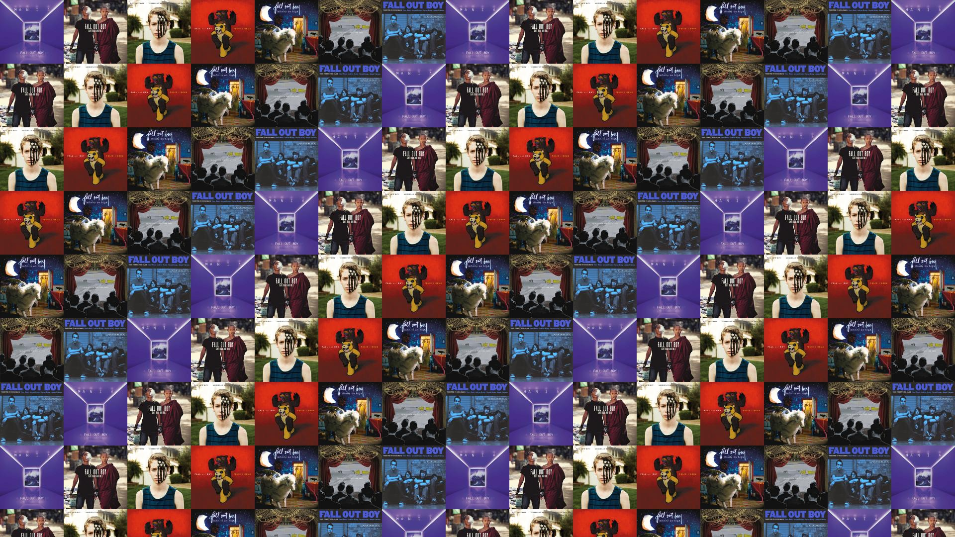 Download This Free Wallpaper With Images Of Fall Out Boy Mania Save Rock And Roll American Beauty Folie
