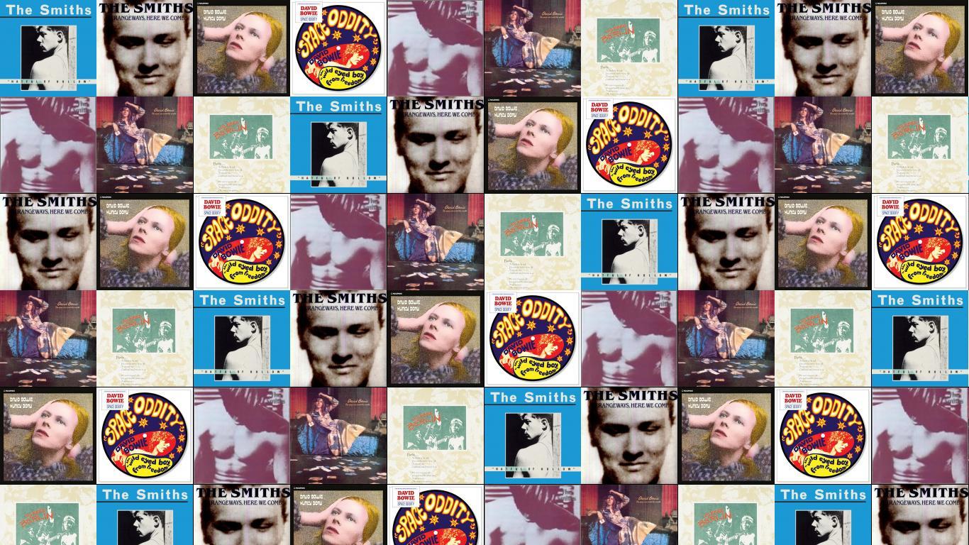 Lou Reed Tiled Desktop Wallpaper