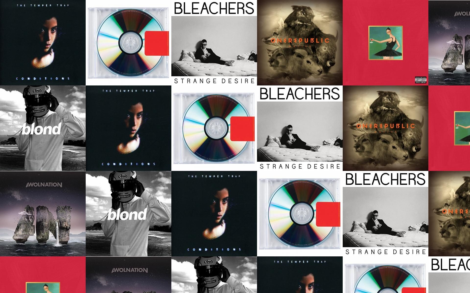 This Free Wallpaper With Images Of Temper Trap Conditions Kanye West Yeezus Bleachers Strange Desires Onerepublic Native Mbdtf