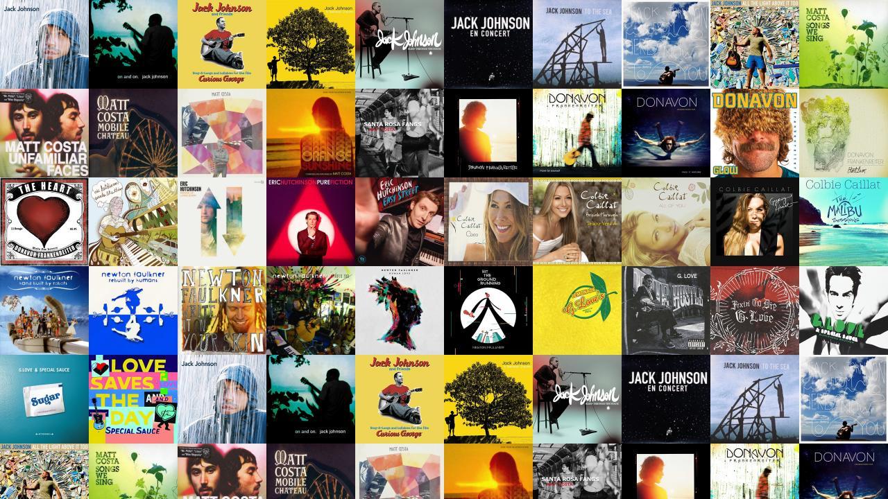 Jack Johnson In Between Dreams Maroon Wallpaper « Tiled Desktop