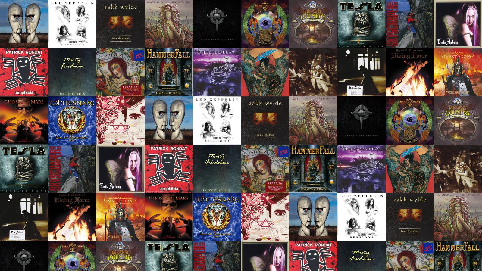 Download This Free Wallpaper With Images Of Pink Floyd The Division Bell Led Zeppelin Bbc Session Zakk Wylde Book Shadows