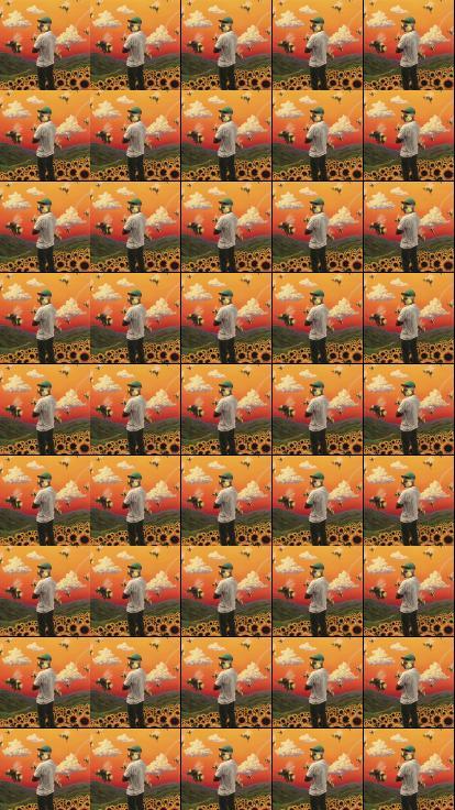 Tyler Creator Flower Boy Wallpaper Tiled Desktop Wallpaper