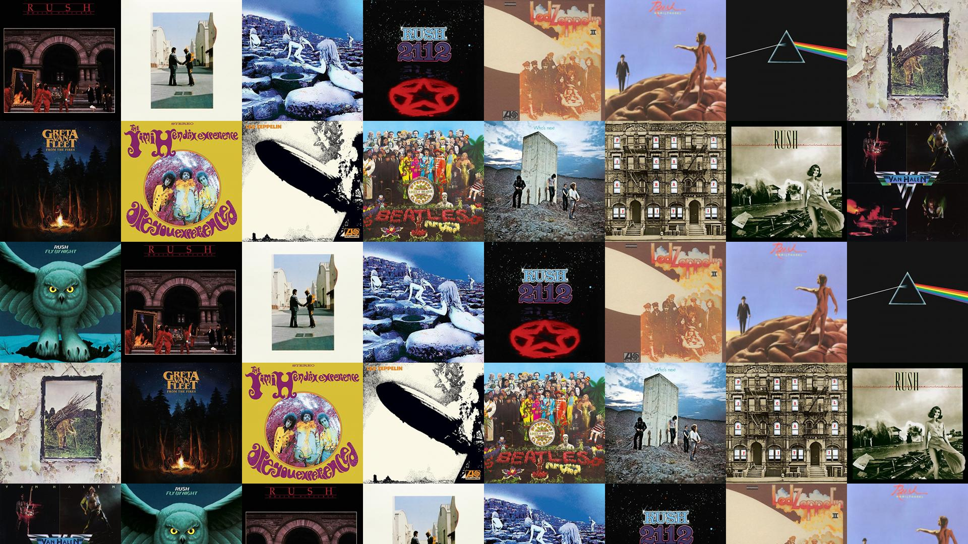 Rush Moving Pictures Pink Floyd Wish You Were Wallpaper