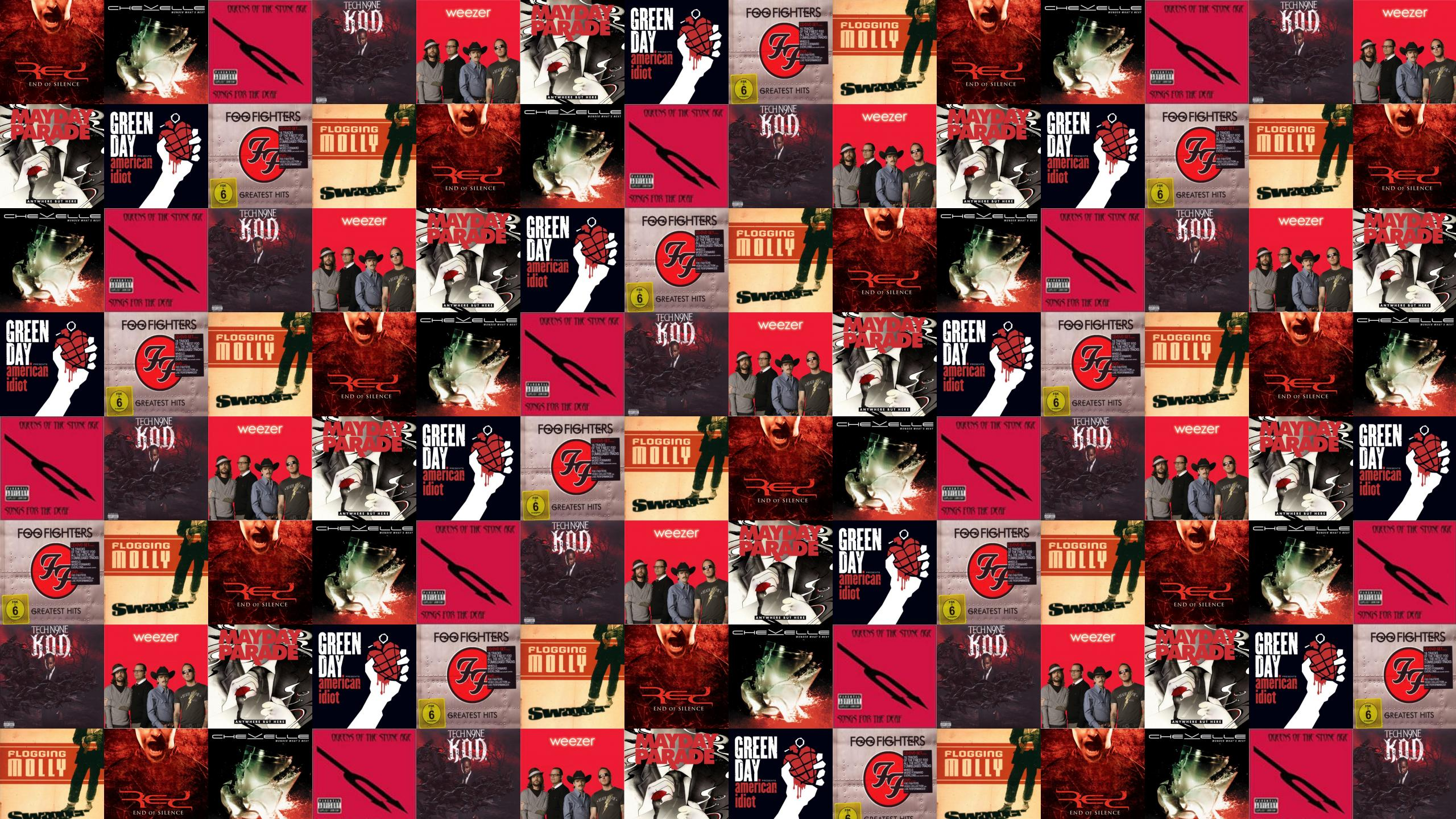 Download This Free Wallpaper With Images Of Red End Silence Chevelle Wonder Whats Next Queens The Stone Age Songs For Deaf Tech N9ne