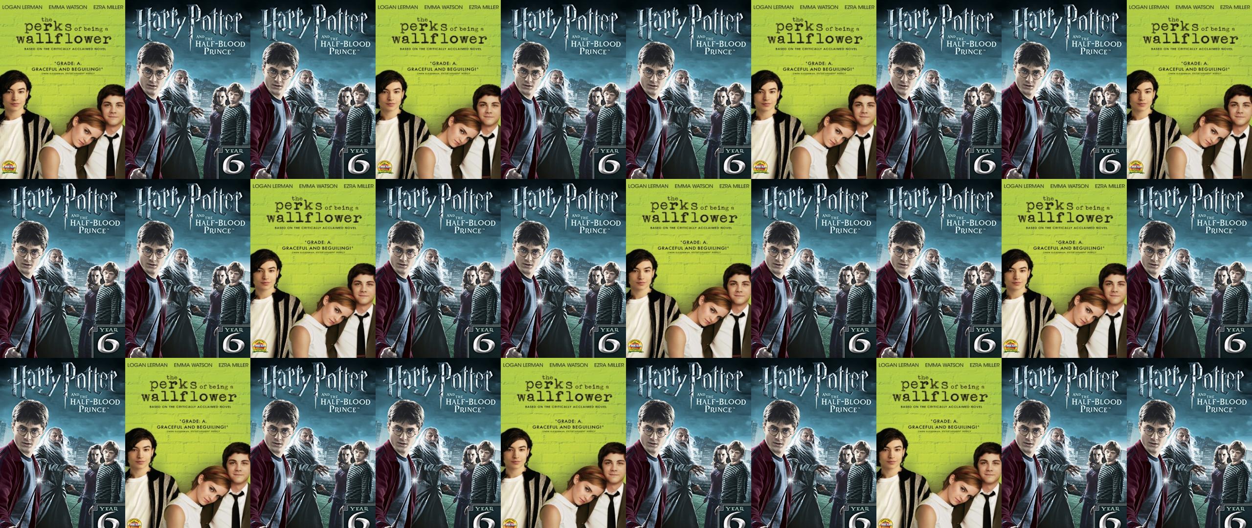 Perks Being Wallflower Harry Potter Harry Potter Wallpaper Tiled