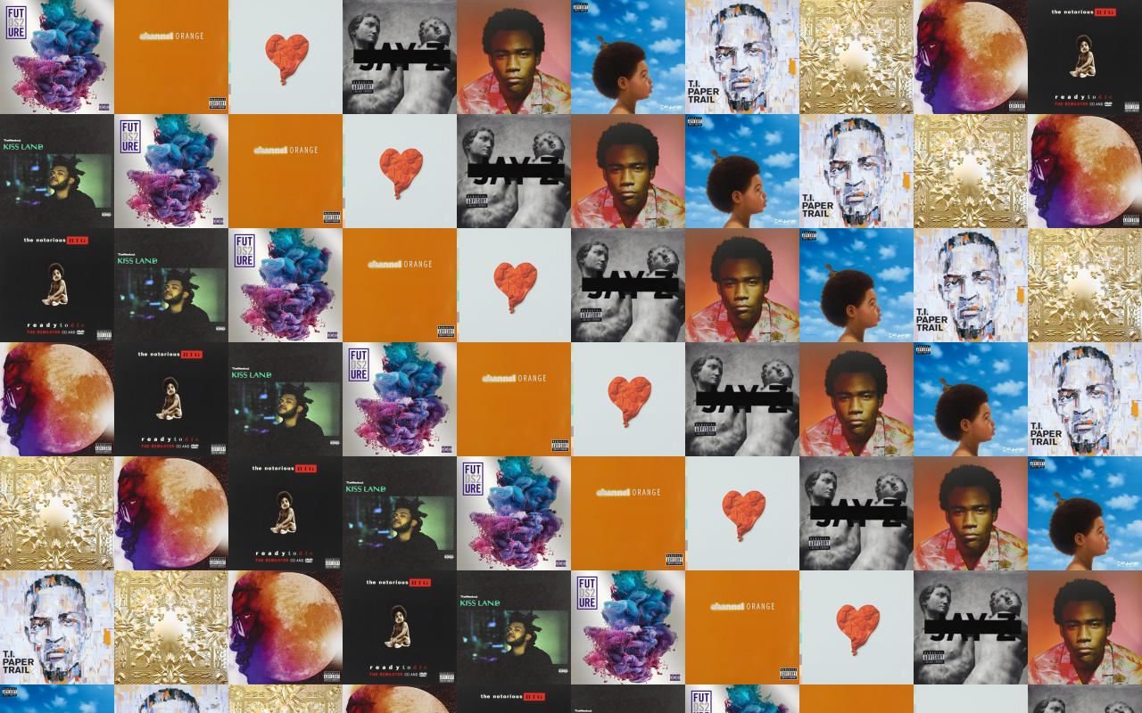 Future Ds2 Frank Ocean Orange Channel Kanye West Wallpaper Tiled