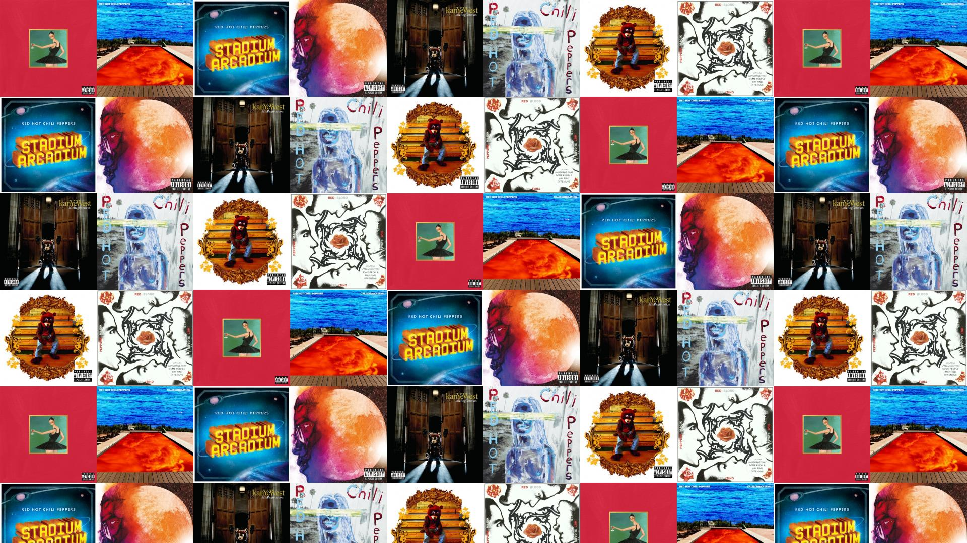 Kanye West My Beautiful Dark Twisted Fantasy Red Wallpaper Tiled Desktop Wallpaper