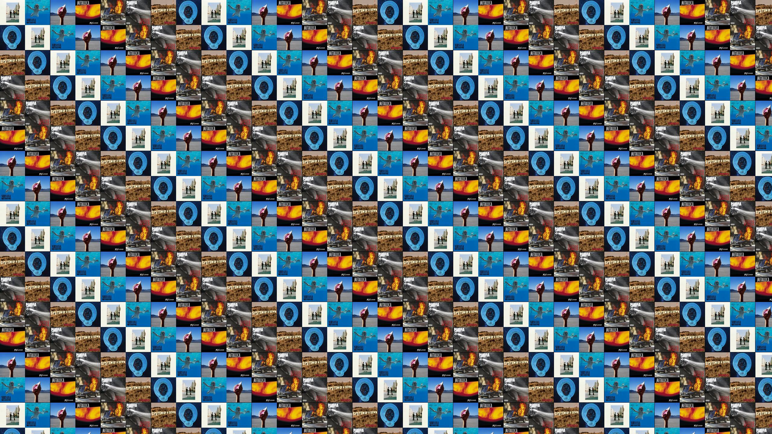 Pantera Tiled Desktop Wallpaper