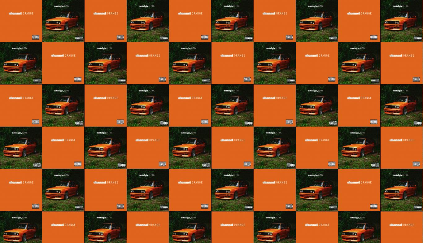 Frank Ocean Channel Orange Frank Ocean Nostalgia Wallpaper Tiled Desktop Wallpaper