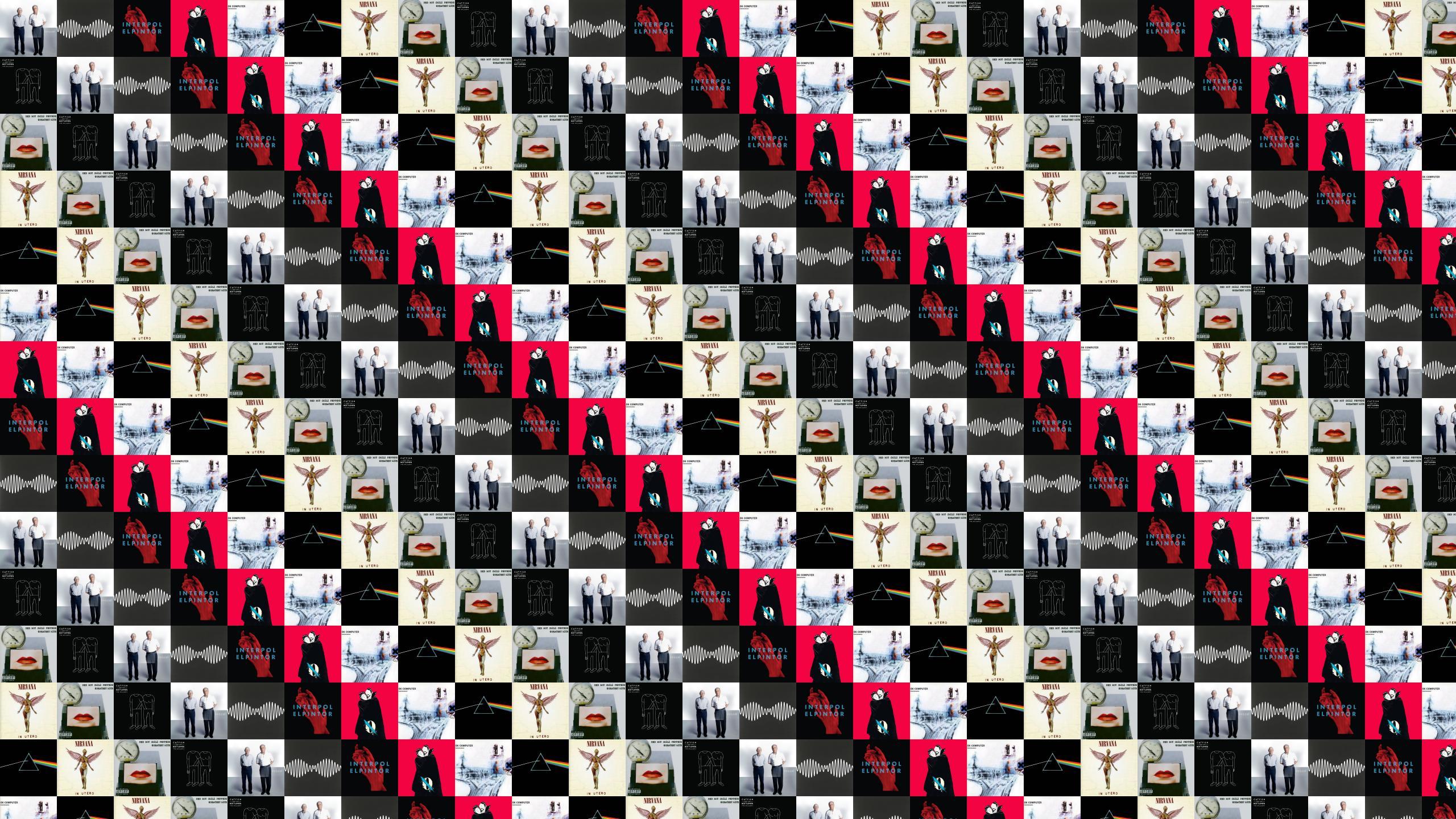 Catfish And The Bottlemen Tiled Desktop Wallpaper