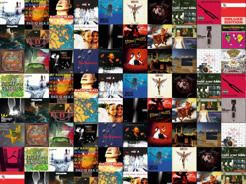 Radiohead Ok Computer In Rainbows Bends Kid Nirvana Wallpaper