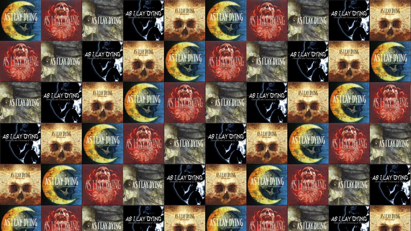 As I Lay Dying Shadows Are Security Powerless Wallpaper Tiled