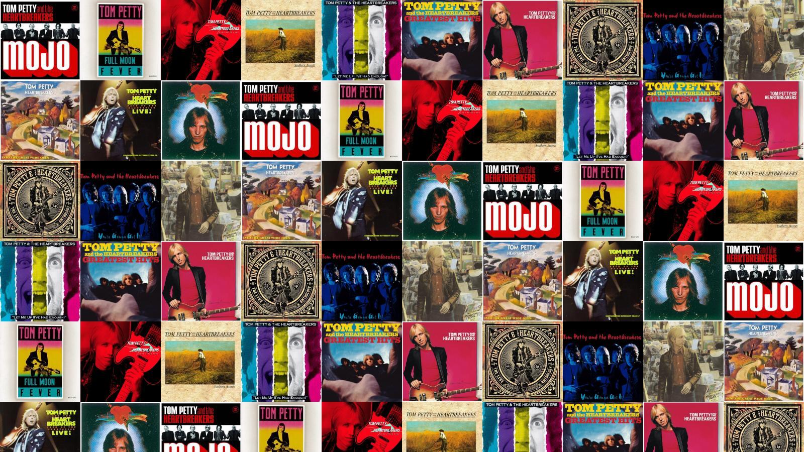 Tom Petty Heartbreakers Mojo Full Moon Fever Long Wallpaper