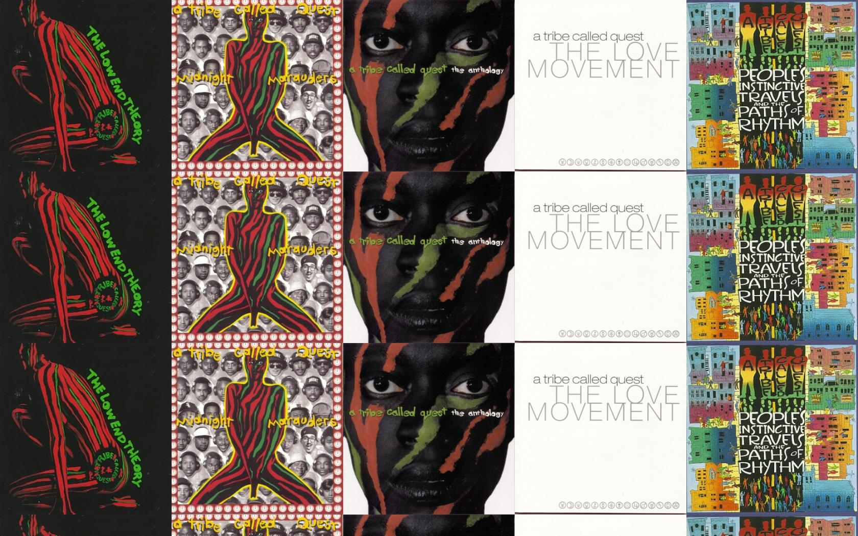 Tribe Called Quest Low End Theory Midnight Marauders Wallpaper