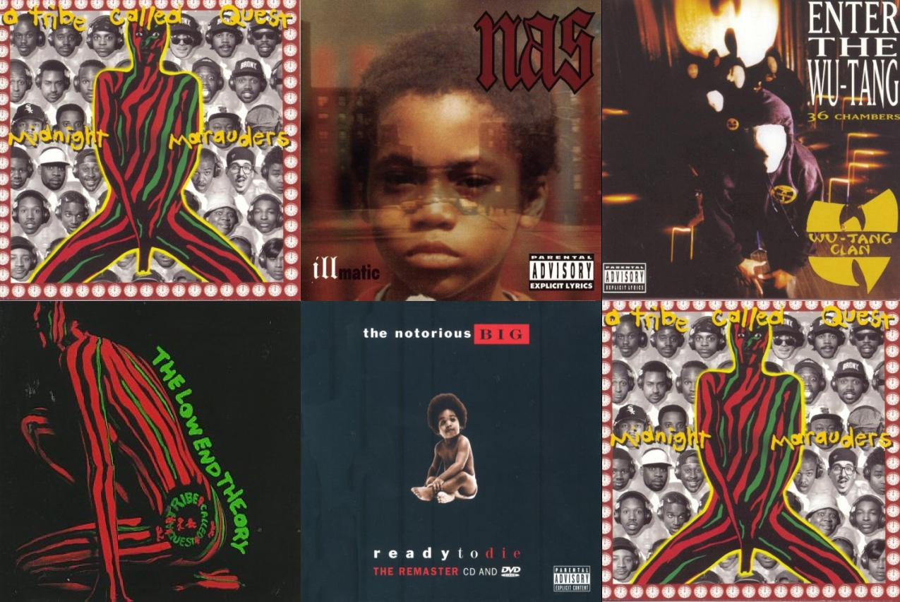 A Tribe Called Quest Midnight Marauders Nas Illmatic Wallpaper