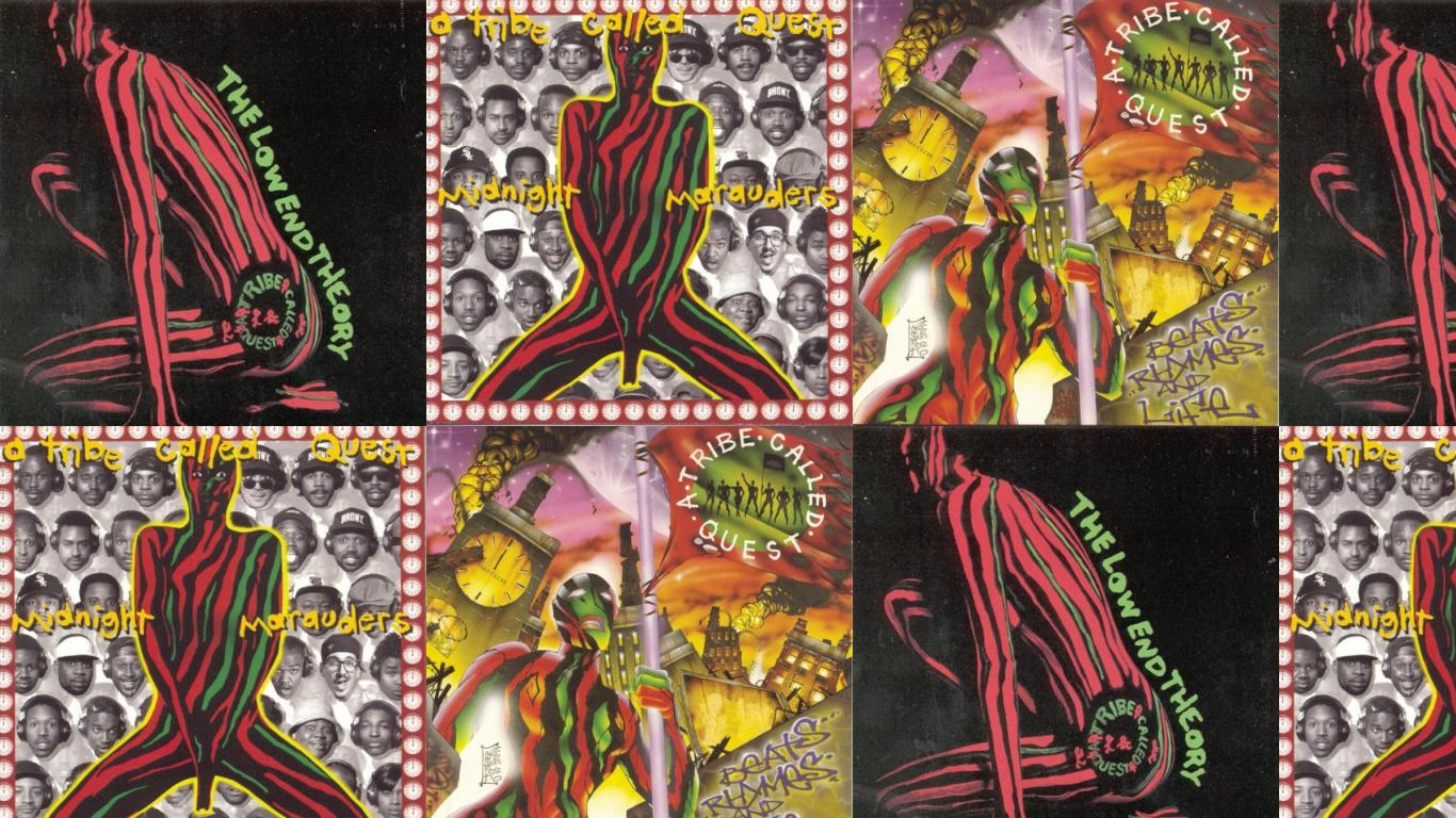 A Tribe Called Quest Low End Theory Midnight Wallpaper Tiled