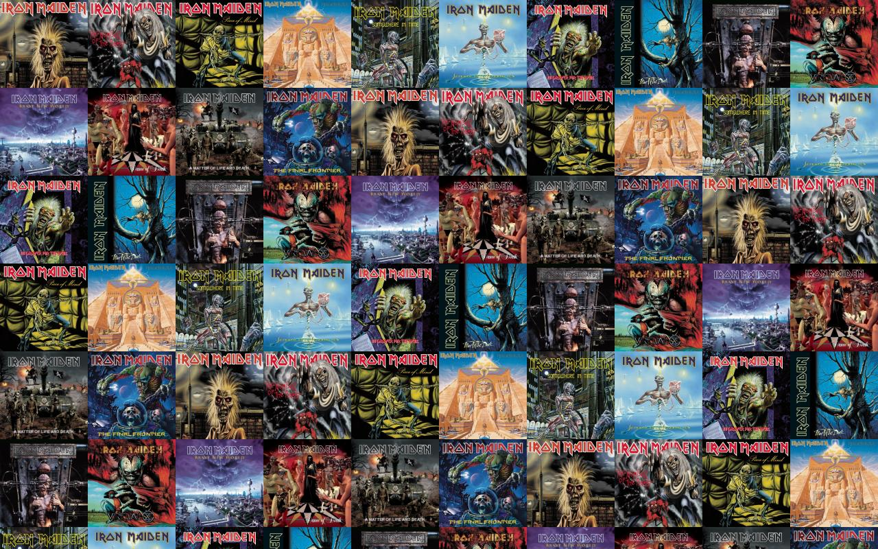 Iron Maiden Killers Number Beast Piece Mind Powerslave Wallpaper