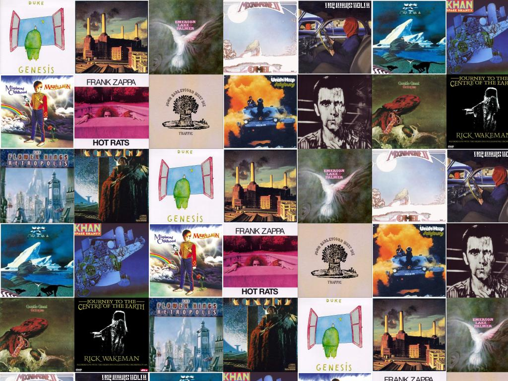 Genesis Duke Pink Floyd Animals Emerson Lake Palmer