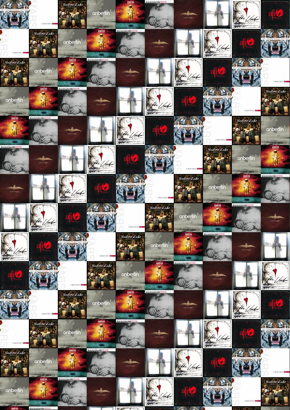 30 Seconds To Mars This War Beautiful Lie Wallpaper Tiled