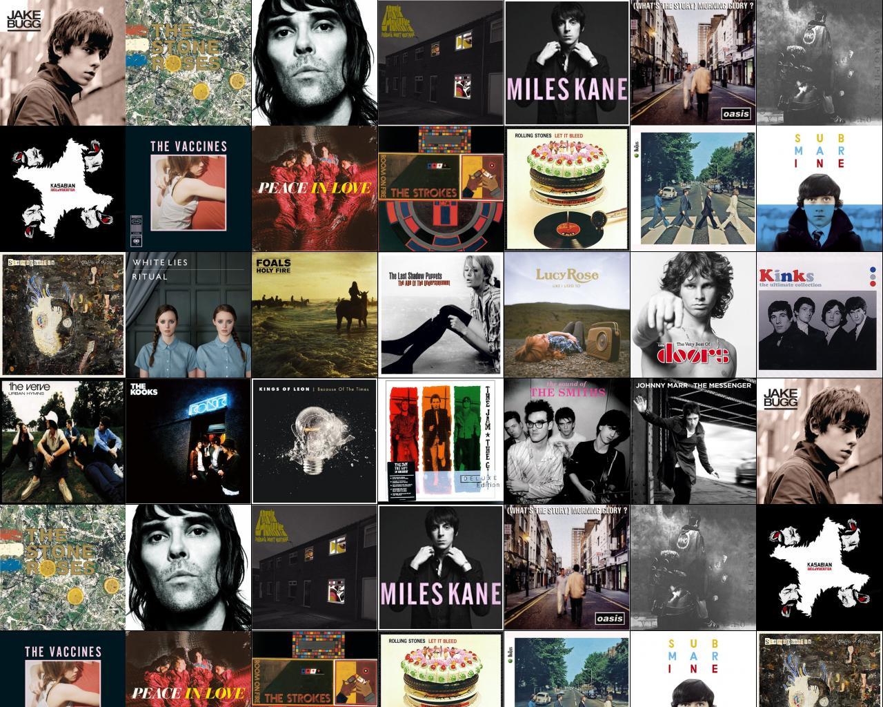 Johnny Marr « Tiled Desktop Wallpaper