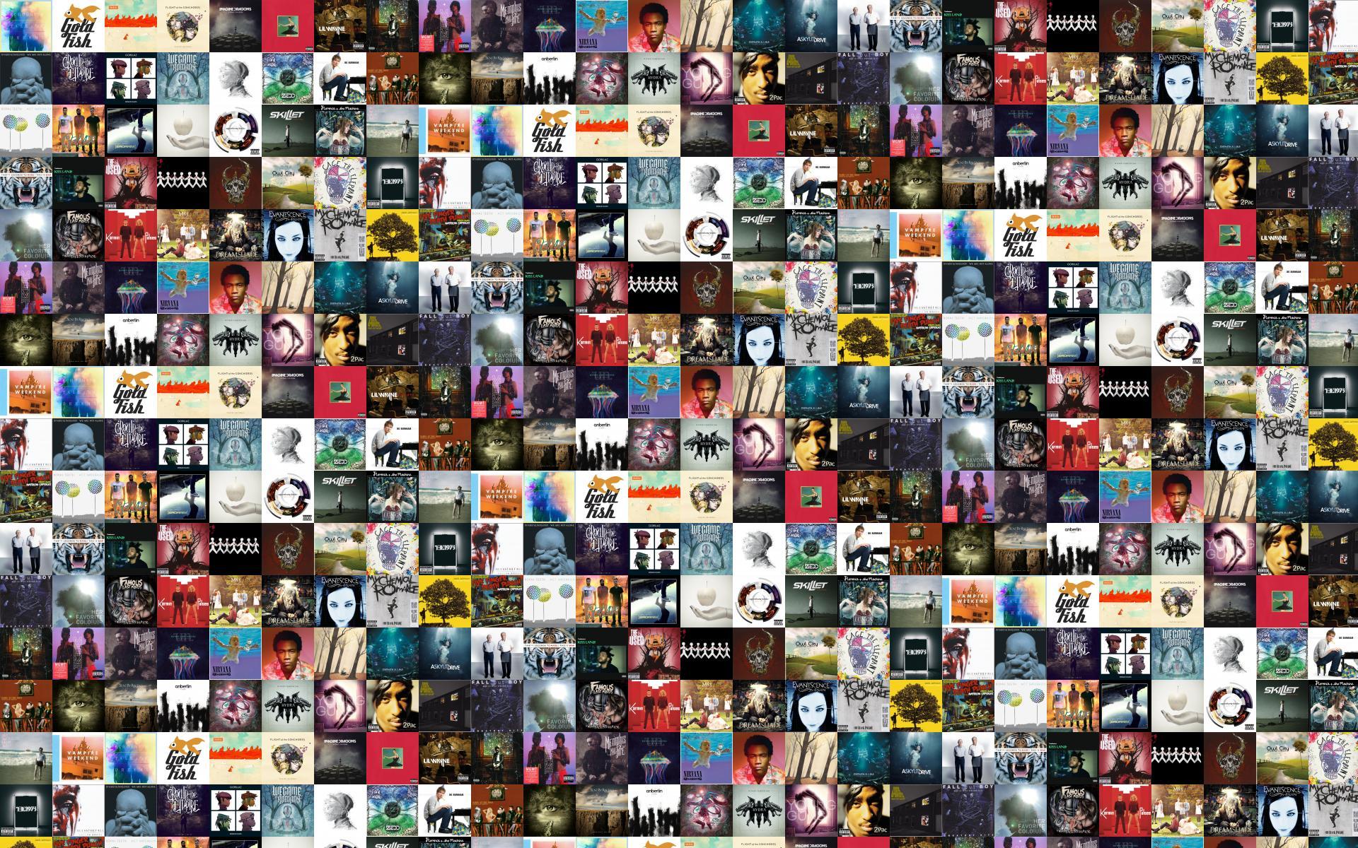 Flight Of The Conchords Tiled Desktop Wallpaper