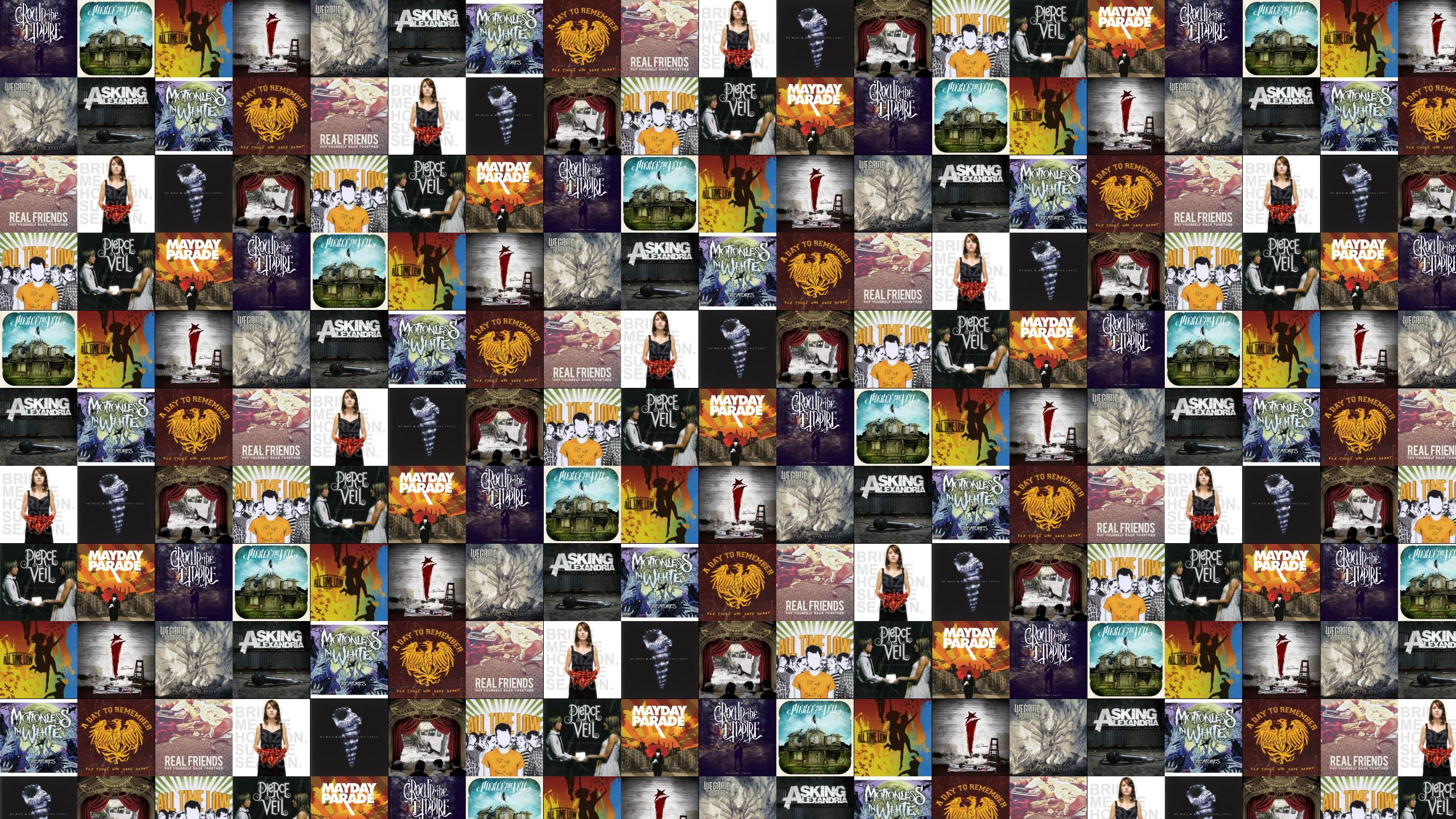 Crown Empire Fallout Pierce Veil Collide With Sky Wallpaper