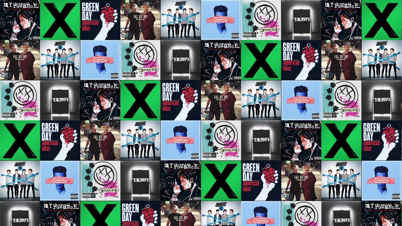 My Chemical Romance Three Cheers For Sweet Revenge Wallpaper