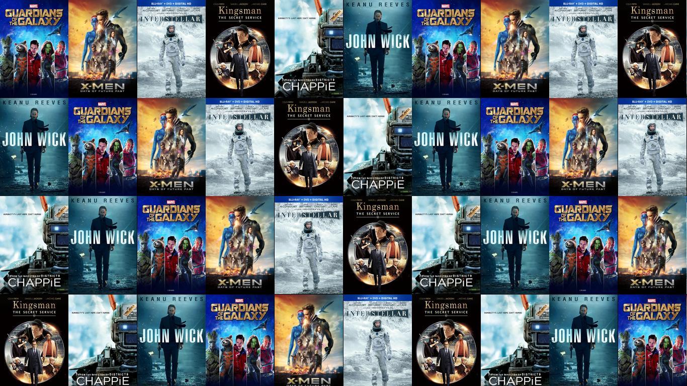Guardians Galaxy X Men Days Future Past Interstellar Wallpaper