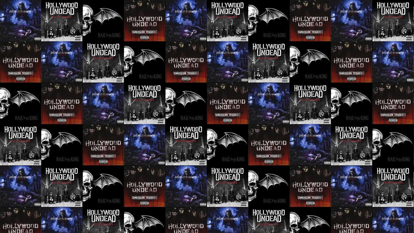 Avenged Sevenfold Nightmare Hollywood Undead Day Dead Hail