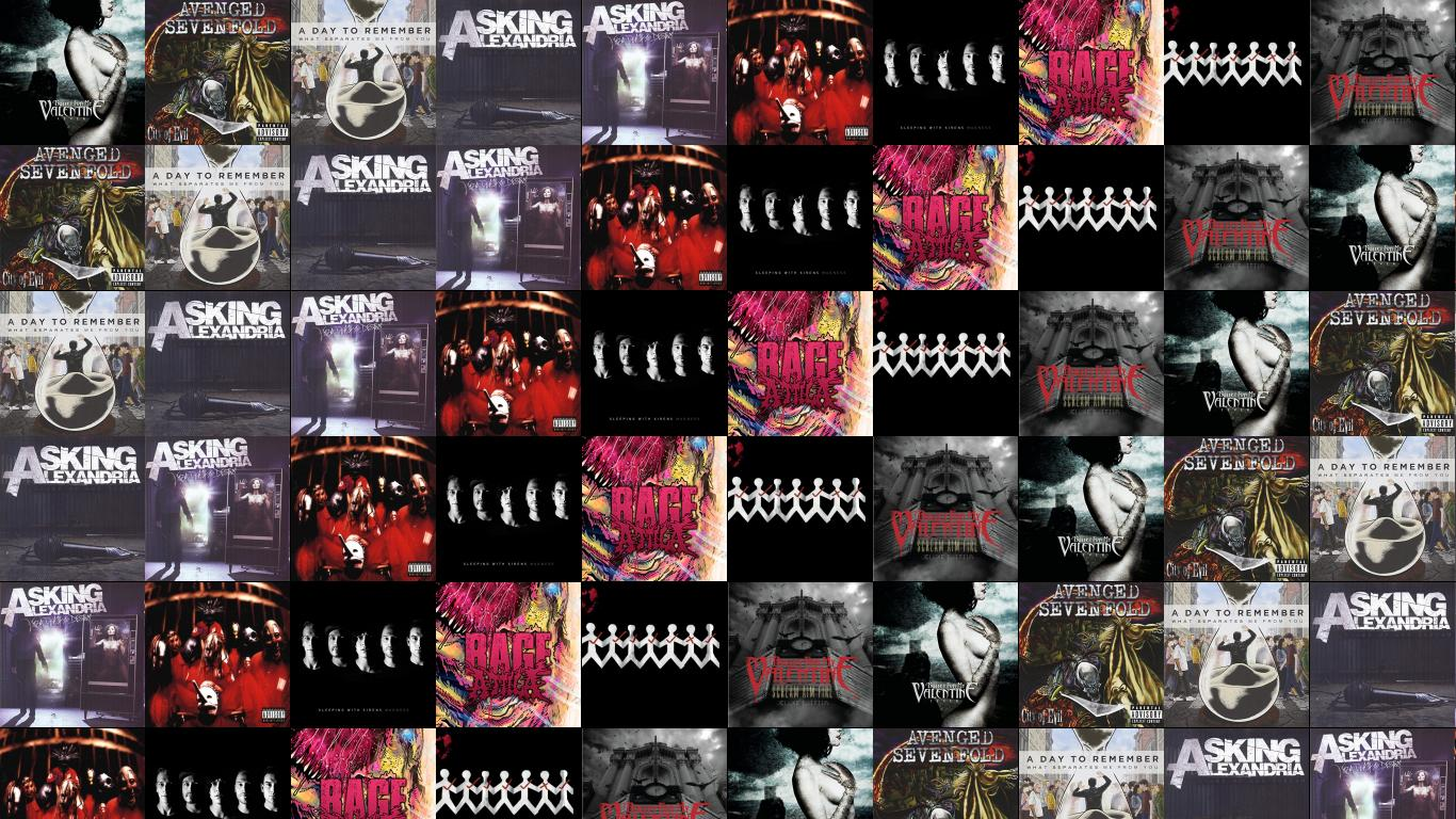 Bullet For My Valentine Fever Avenged Sevenfold City Wallpaper