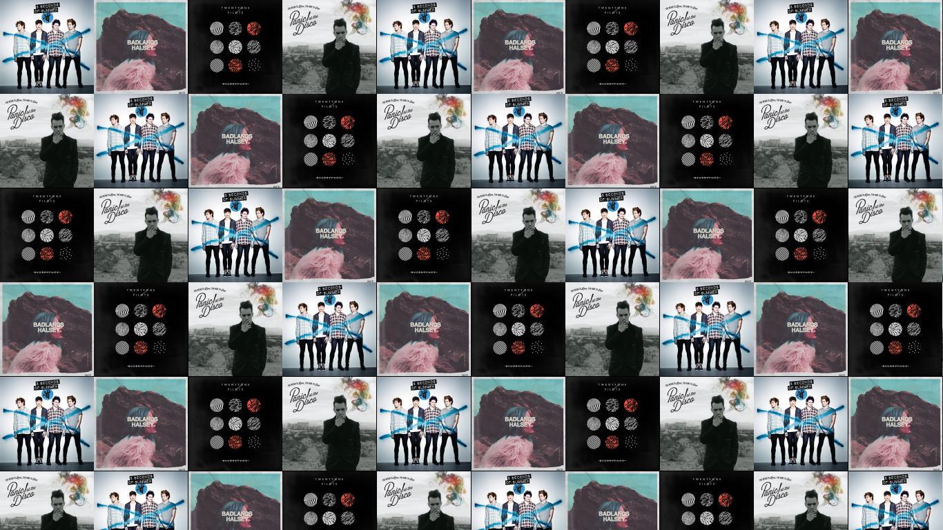 5 Seconds Summer Live Sos Halsey Badlands Twenty Wallpaper Tiled