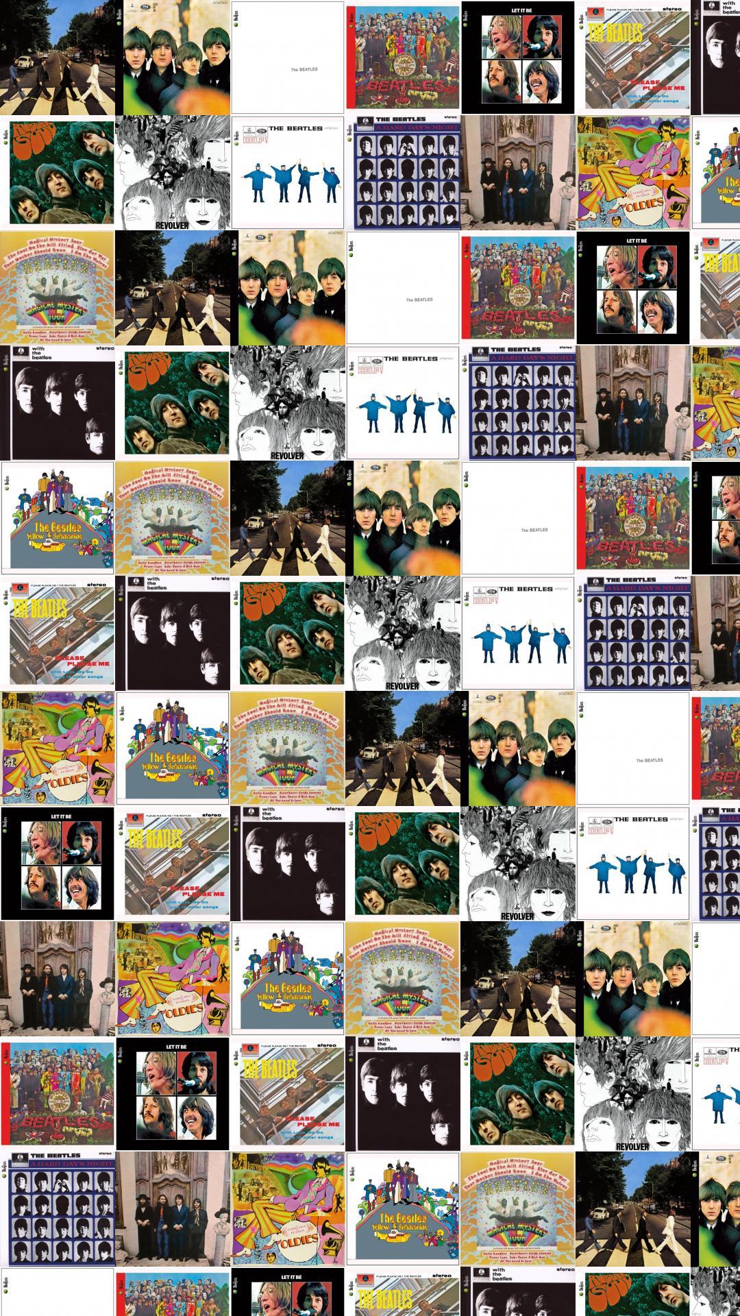 Beatles Abbey Road Beatles For Sale White Album Wallpaper Tiled