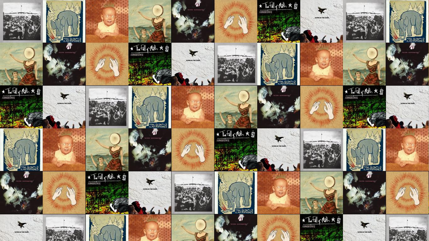 Godspeed You Black Emperor Tiled Desktop Wallpaper