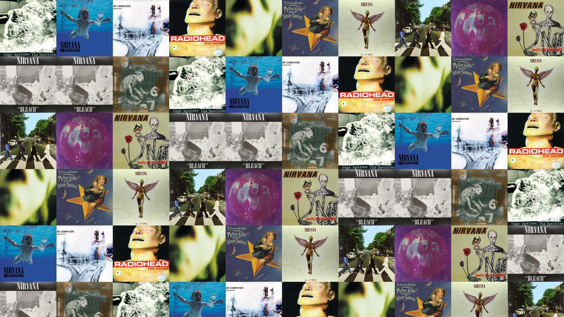 Rage Against Machine Rage Against Machine Nirvana Nevermind