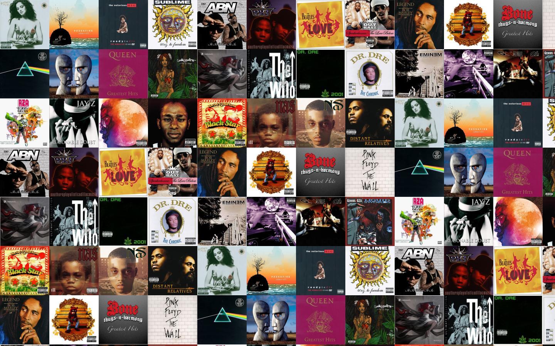 Bone Thugs N Harmony Tiled Desktop Wallpaper