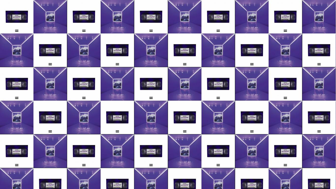 Waterparks Entertainment Fall Out Boy Mania Wallpaper Tiled