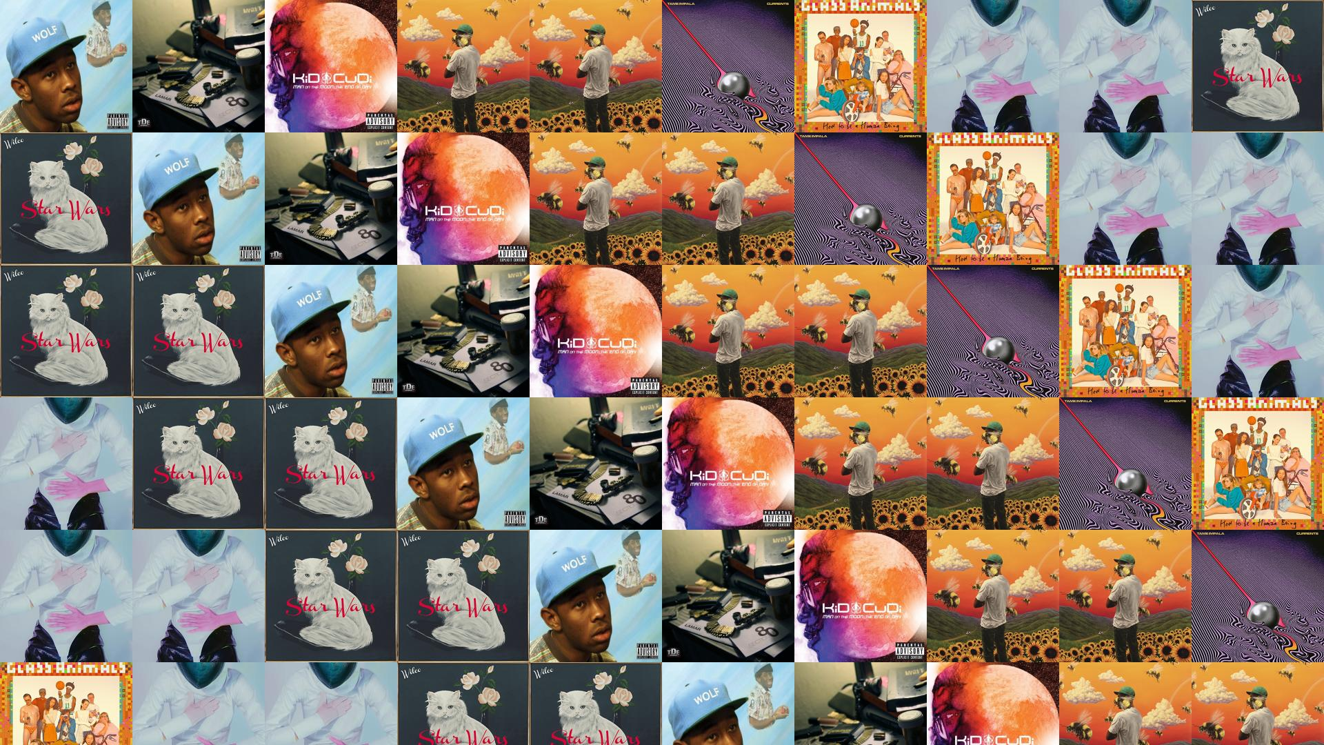 Tyler Creator Wolf Kendrick Lamar Section 80 Kid Cudi Wallpaper