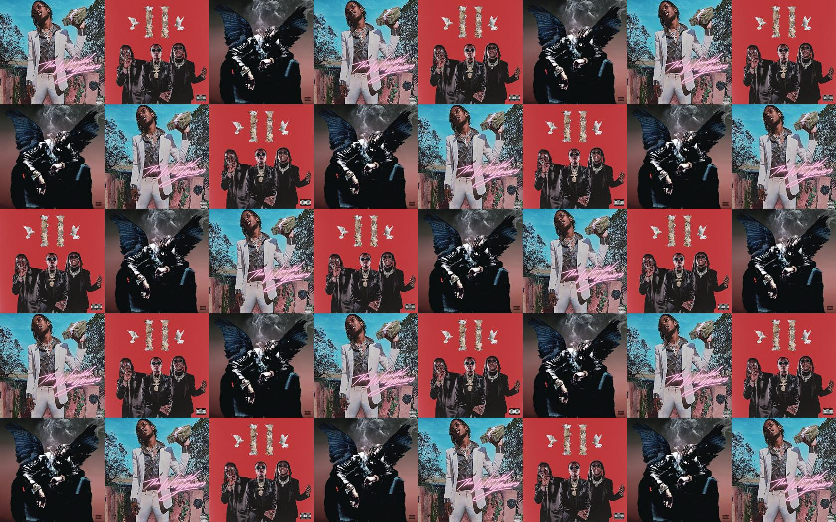 Rich Kid The World Yours Culture Ii Migos Wallpaper Tiled